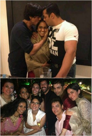 Salman-Shah Rukh's Reunion Gives a Sleepless Night to Aamir Khan