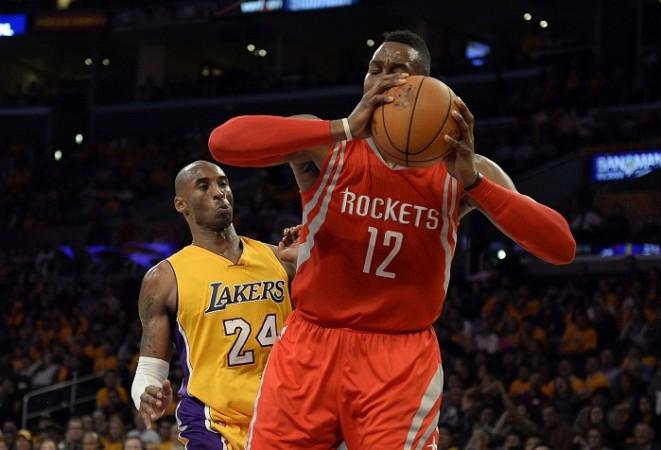 Kobe Bryant Dwight Howard Houston Rockets LA Lakers
