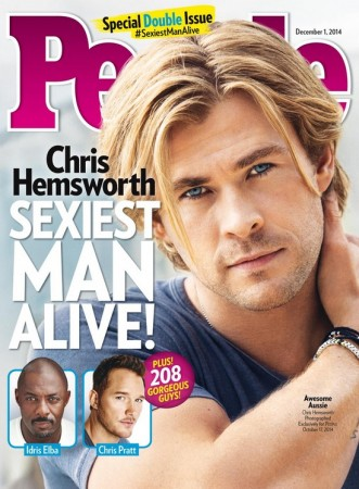 People Magazine's Sexiest Man Alive 2014