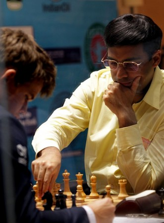 Magnus Carlsen Viswanathan Anand World Chess Championship