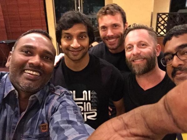 VIjay Milton-Narain Karthikeyan- Lee Whittaker