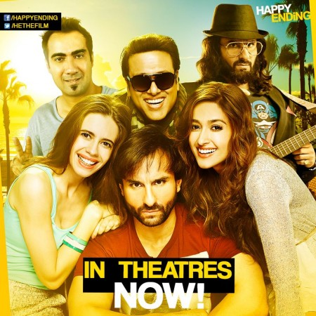 Saif-Govinda's 'Happy Ending' Opens to an Average Response at Box Office