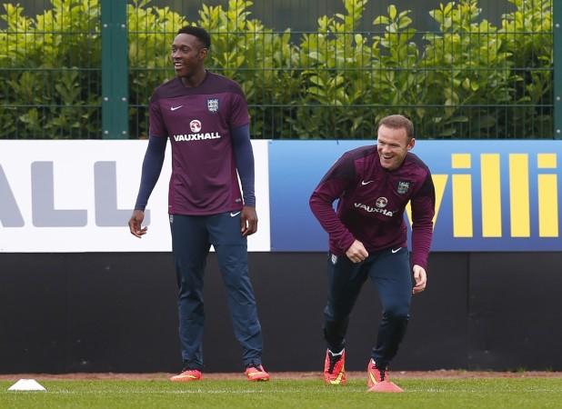 Danny Welbeck, Wayne Rooney