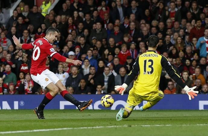 Robin Van Persie Manchester United Thibaut Courtois Chelsea