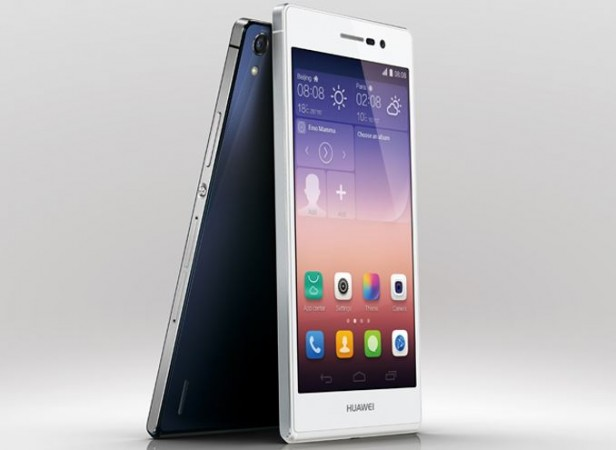Huawei Ascend P7 with 1.8GHz Quad-Core CPU Released in India