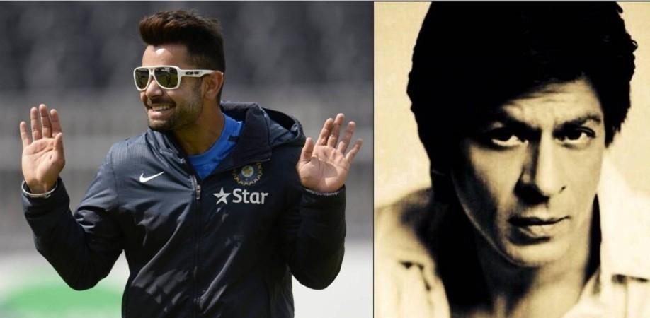 Virat Kohli and Shah Rukh Khan