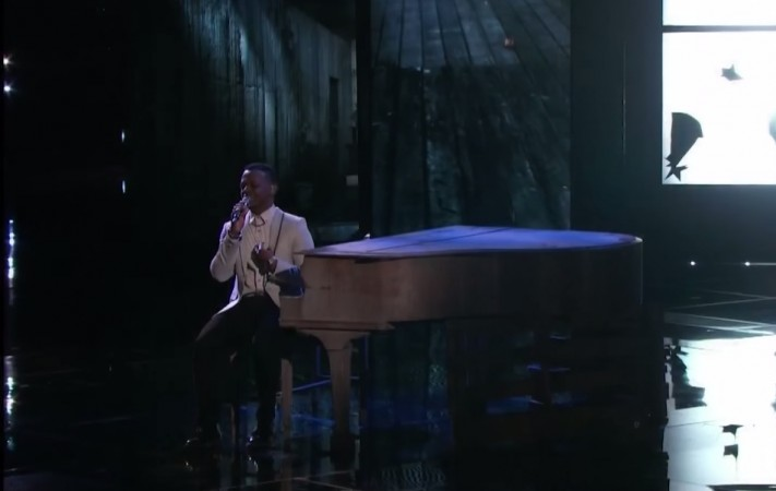 """Damien sings """"You and I"""" by Stevie Wonder on """"The Voice"""" Season 7"""