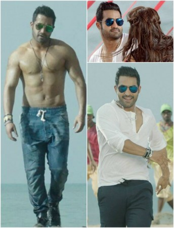 Jr ntr follows mahesh babu and allu arjun to flaunt six pack abs in junior ntr goes shirtless for temper fans go gaga over his leaked first look altavistaventures Gallery