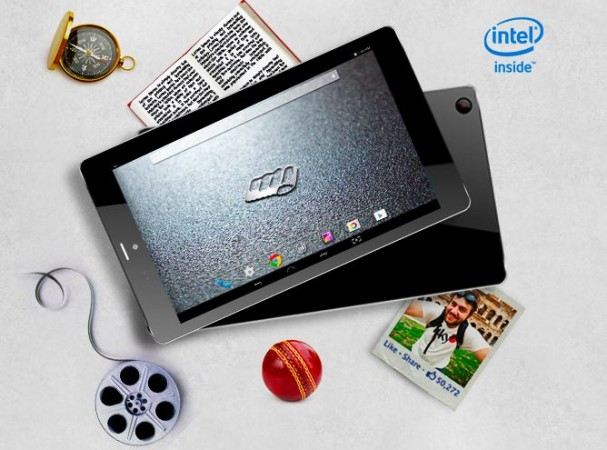 Micromax Canvas Tab P666 with Intel Atom CPU in India