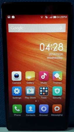 Redmi Note Opening