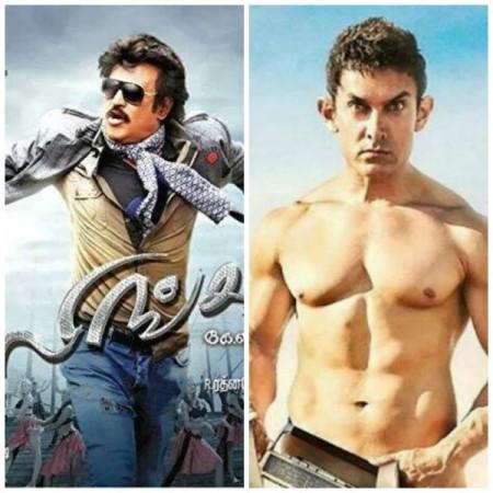 Aamir Khan's 'PK' Getting Lesser Screens than Rajinikanth 'Lingaa'