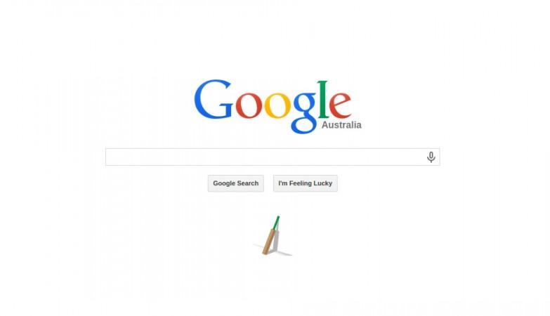 Google's tribute to Australian cricketer Phillip Hughes