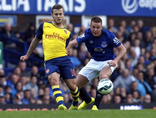 Jack Wilshere Arsenal James McCarthy Everton