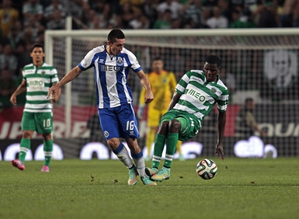 William Carvalho Sporting Lisbon Herrera FC Porto
