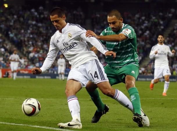 Javier Hernandez Real Madrid Cornella Dani Marti