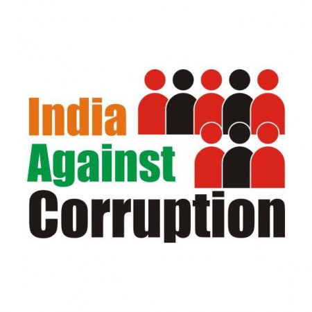India against corruption, ranked below china