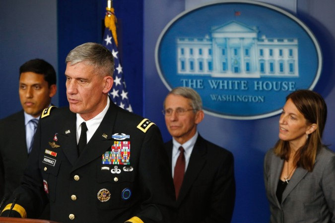 General Rodriguez, however, ruled out any military action on what he referred to as the