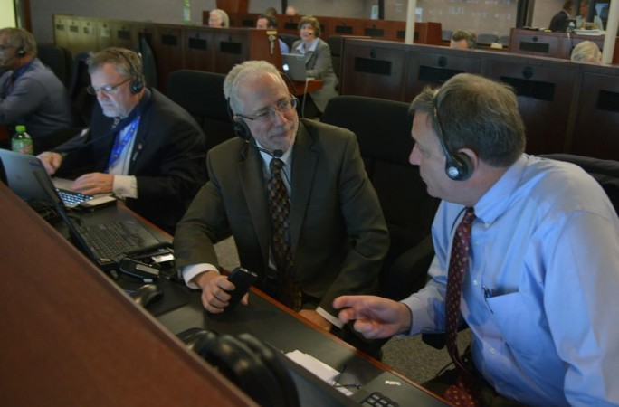 Management team reviews vehicle status of Orion