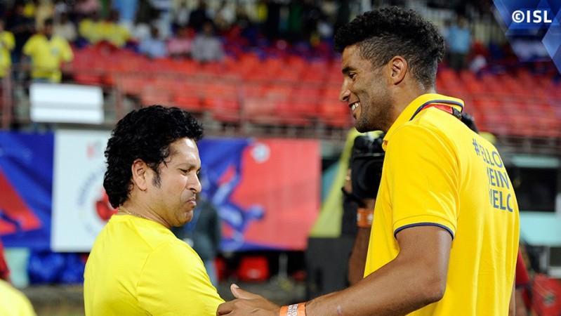Sachin Tendulkar, David James, ISL