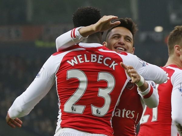 Alexis Sanchez Danny Welbeck Arsenal