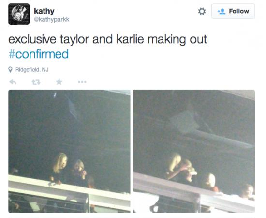 Taylor Swift lesbian rumour