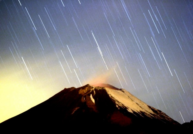 'Geminid meteor shower' where over 100 shooting starts will be seen per hour for over 10 days.