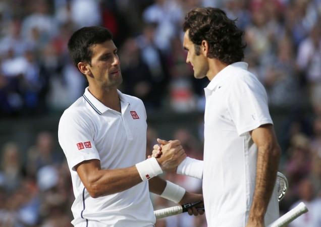 Novak Djokovic, Roger Federer
