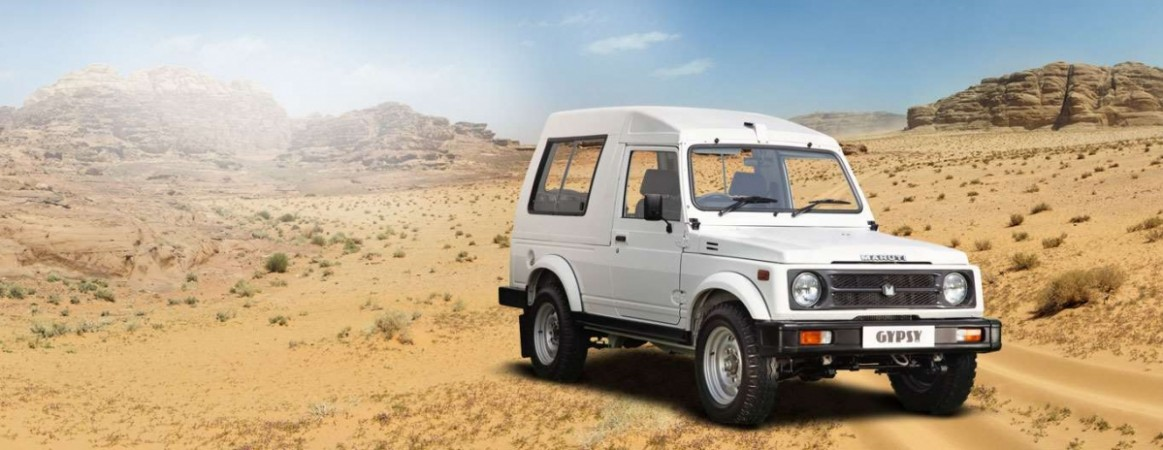 Maruti Suzuki Gypsy Rakes 4000 Bookings from Indian Army, Largest Single Order Ever