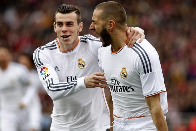 Gareth Bale Karim Benzema Real Madrid
