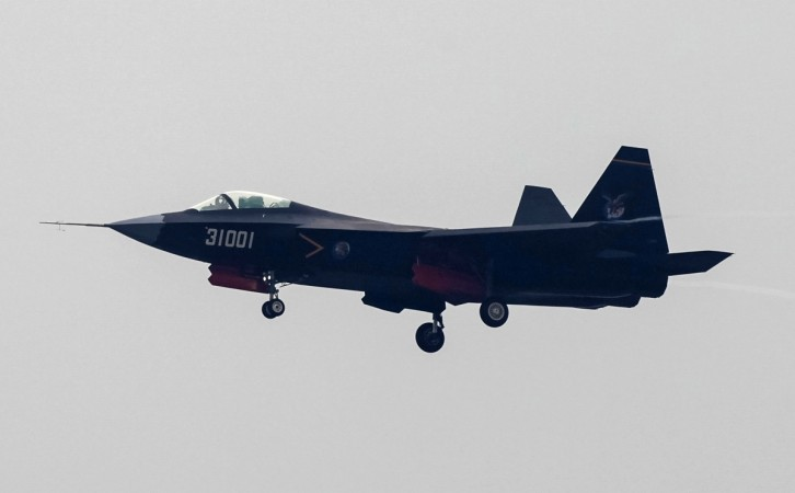 China says its new J-31 stealth fighter jet has the ability to shoot down US-made F-35 fighter from the sky.