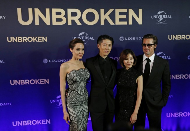 """Angelina Jolie's """"Unbroken"""" Draws Criticism from Japanese Nationalists"""