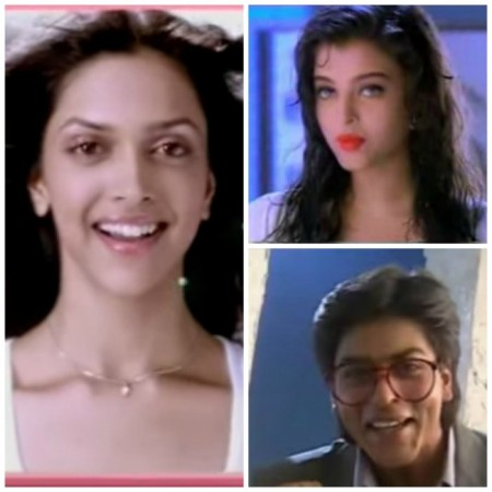 Aishwarya Rai, SRK, Deepika and Other Celebs in Their Old Commercials