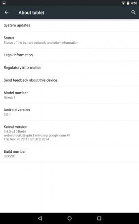 Android 5.0.1 Lollipop OTA Now Released to Nexus 4, 6, 7, Motorola Moto G GPe; New Google Mobile OS Update Awaited for Nexus 5