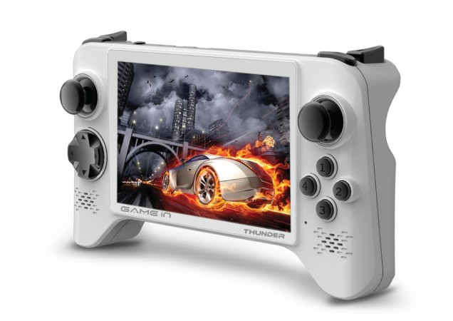 Mitashi unveils Android powered handheld Gaming Console GameIn ThunderPro Quad-core in India