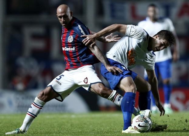 Lucas Silva Cruzeiro Juan Mercier San Lorenzo