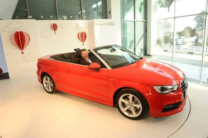 Audia3 Cabriolet New Convertible Hits Indian Roads For Rs 4475
