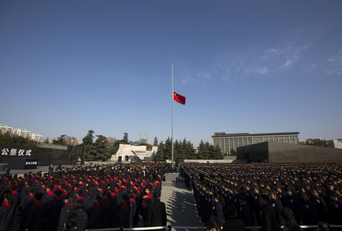First National Memorial Day celebrated in China