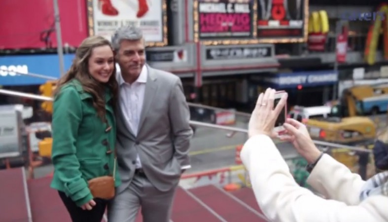 George Clooney Look-Alike Searching for his Amal