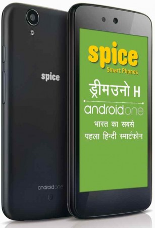 Spice launches Hindi Android Smartphone Dream Uno H in India