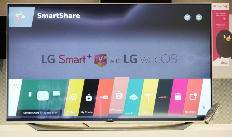 LG to showcase more WebOS 2.0 based Smart TVs at CES 2015