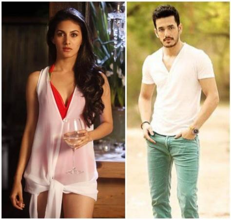 Akhil Akkineni to Romance Mumbai Beauty Amyra Dastur in his Debut Film