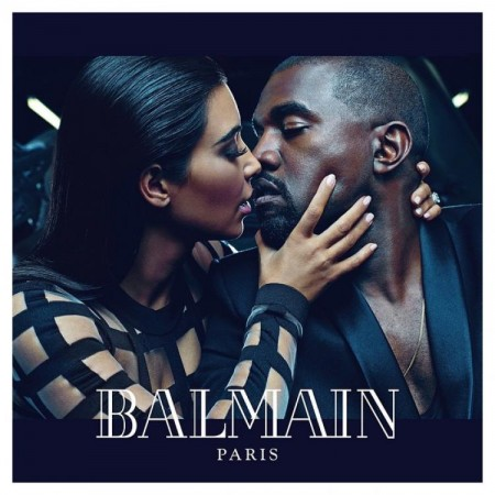 Kim-Kanye Share Steamy Embrace in Balmain's new 'Army of Lovers' Campaign