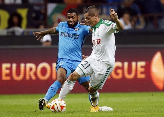 Yann M'Vila Inter Milan Romain Hamouma St Etienne