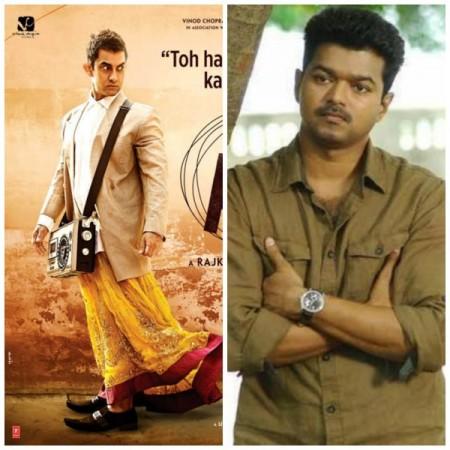 Ilayathalapathy Vijay Gives Thumbs Up to Aamir Khan's 'PK'