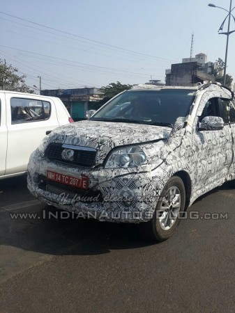 Toyota Rush Compact SUV Spied Testing