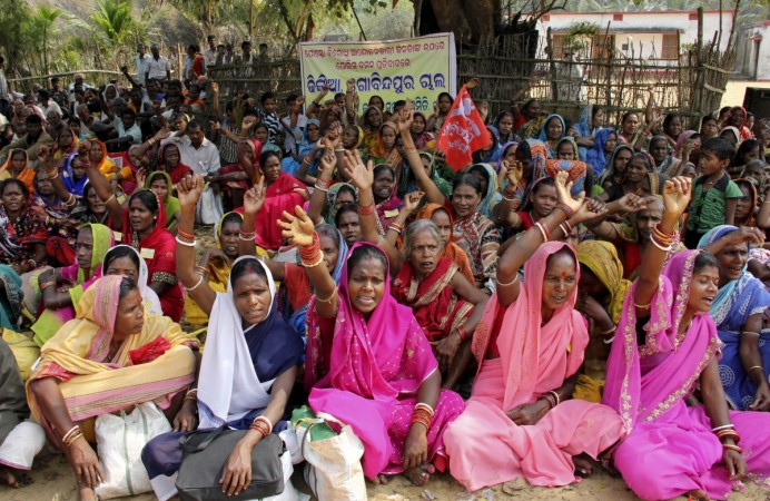 Rural India protesting against land acquisitions