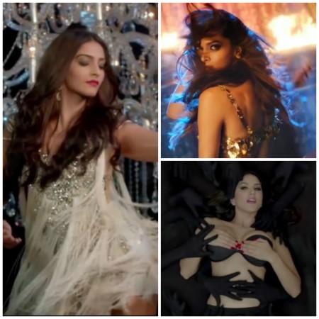 Sonam Kapoor, Deepika Padukone, Sunny Leone