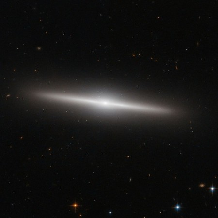 NASA's Hubble Space Telescope Spots New Galaxy