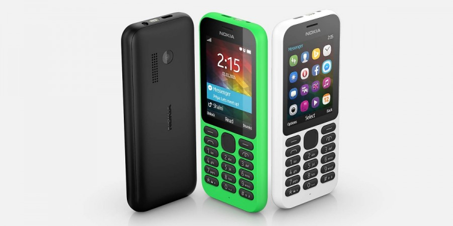 Microsoft launches Nokia 215 Feature phone