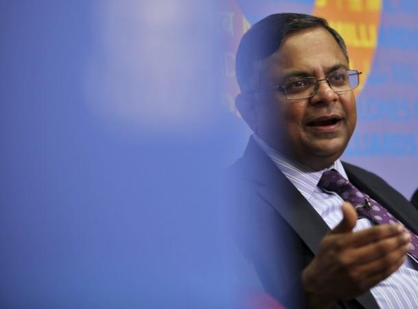 TCS CEO N.Chandrasekaran